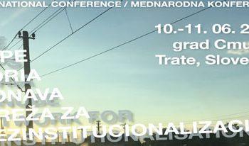 Konferenca Alpe Adria Donava mreže za dezinstitucionalizacijo, 10. in 11. junij 2021